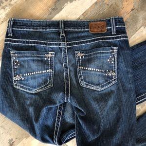 BKE Payton boot cut jeans size 27